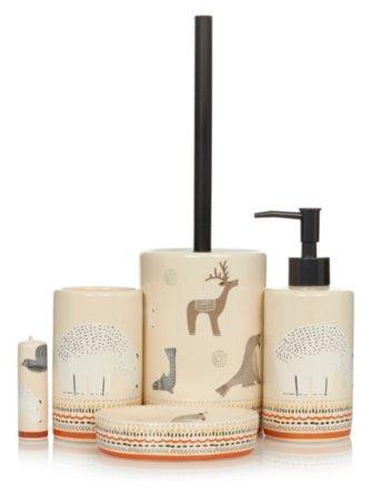 George Home Tundra Animals Bathroom Accessories