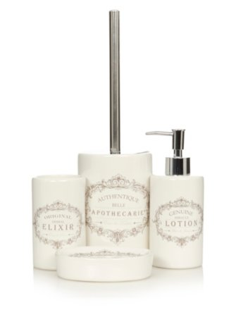 George Home Vintage Label Bath Accessories Range