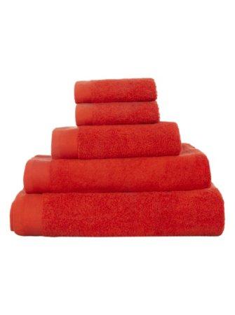 100% Cotton Towel Range - Mandarin