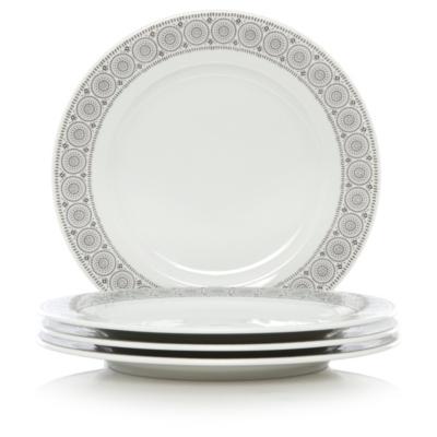 George Home Kalahari Dinner Plates - Set of 4  sc 1 st  George - Asda.com & George Home Kalahari Dinner Plates - Set of 4 | Tableware | George ...
