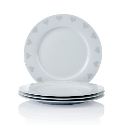 George Home Cross Stitch Heart Dinner Plates - Set of 4  sc 1 st  George - Asda & George Home Cross Stitch Heart Dinner Plates - Set of 4   Tableware ...