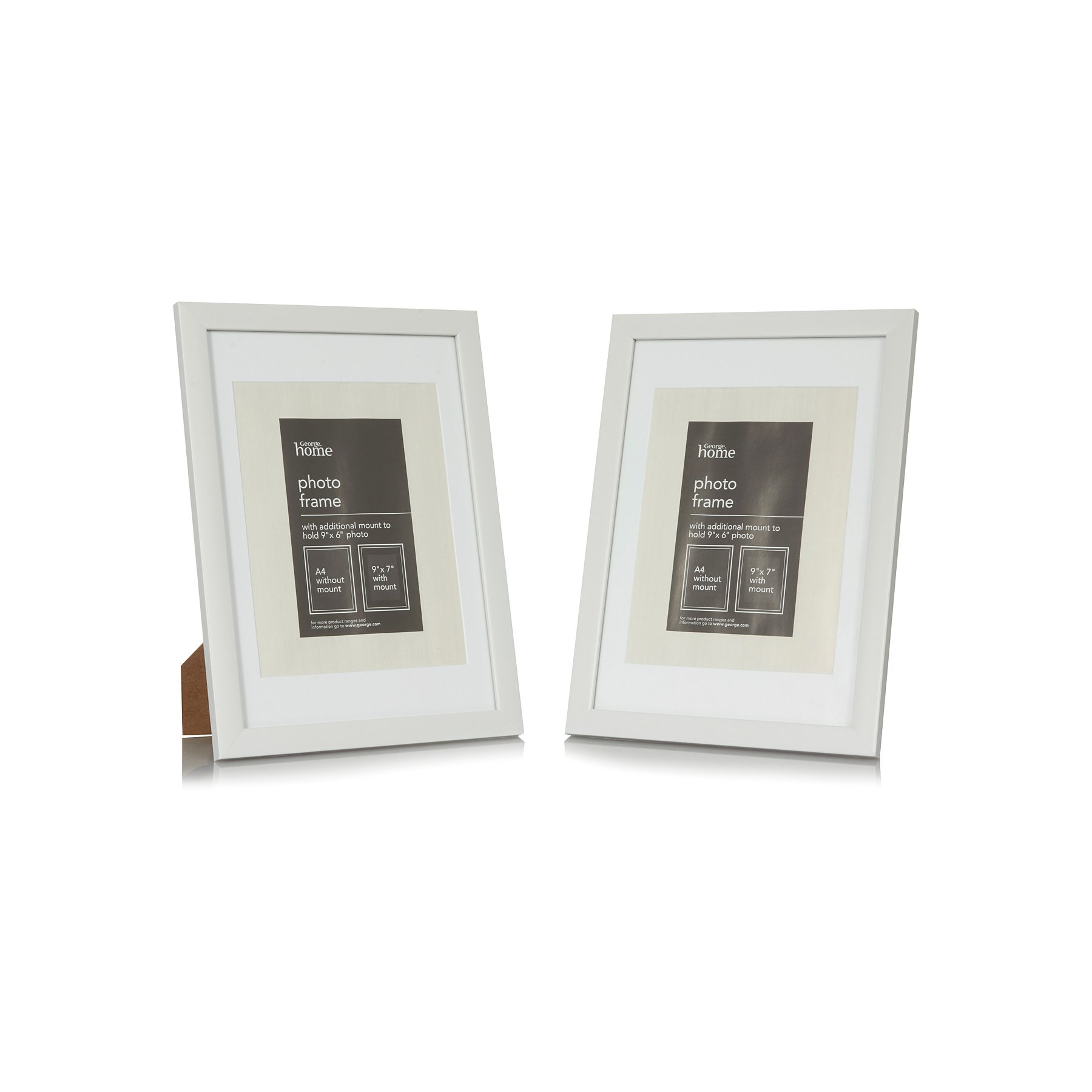 George Home Photo Frame 9 X 7 Inch 2 Pack Photo Frames
