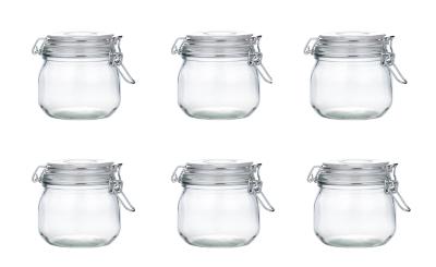 Glass Storage Jar - Set of 6 features in our Kitchen u0026 Food Storage collection  sc 1 st  George - Asda & Glass Storage Jar - Set of 6 | Kitchen u0026 Food Storage | George at ASDA