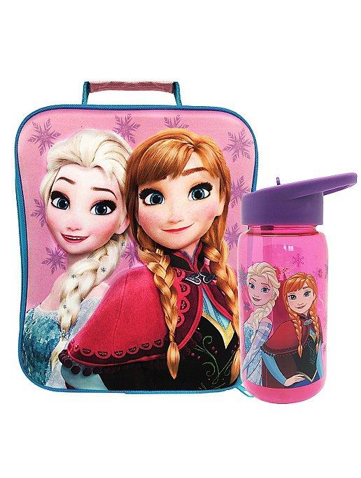 Disney Frozen Bottle Lunch Bag Lunch Bags Bottles George At Asda