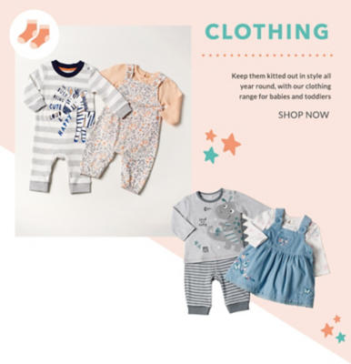 Discover our beautiful selection of clothing for your little bundle of joy