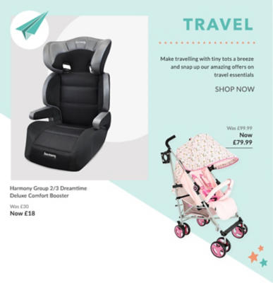 Browse our range of pushchairs and prams