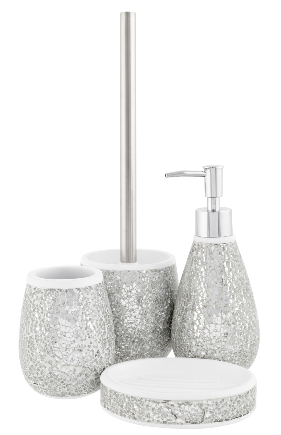 bathroom accessories glitter : healthydetroiter