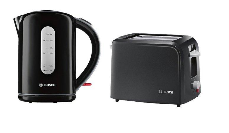 Bosch Village Kettle & Toaster Range - Black