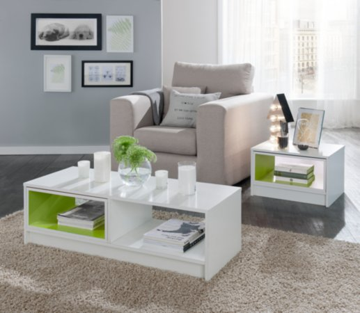 George Home Boxx Furniture Range - White