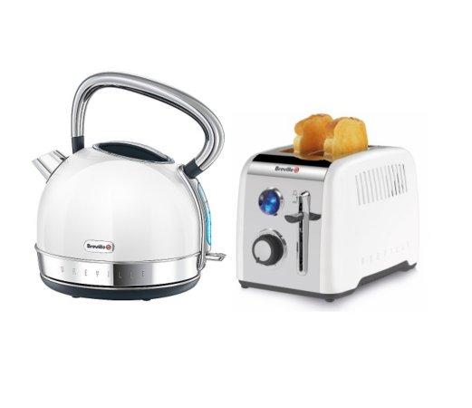 Breville Opula Kettle & Toaster Range - White