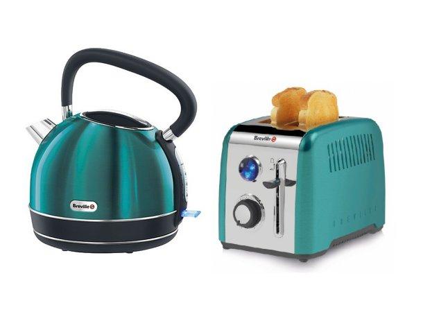 Breville Rio Kettle & Toaster Range - Teal