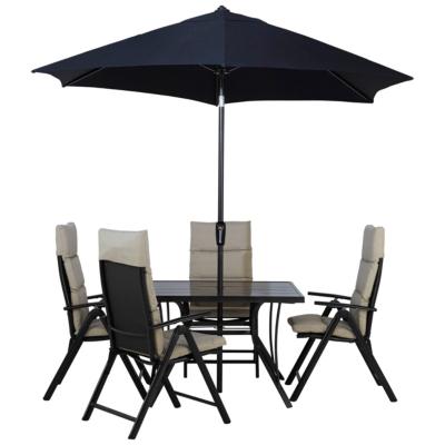 Haversham 6 Piece Recliner Patio Set   Linen | Garden Furniture | George At  ASDA