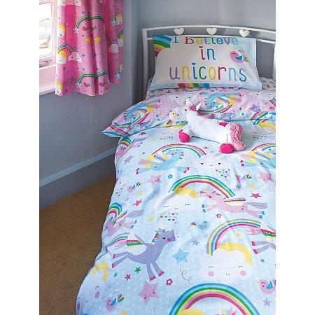 Unicorn Kids Bedroom Range Unicorn George At Asda