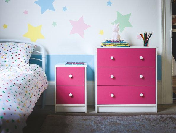 Shop Colour Block Kids Bedroom Furniture