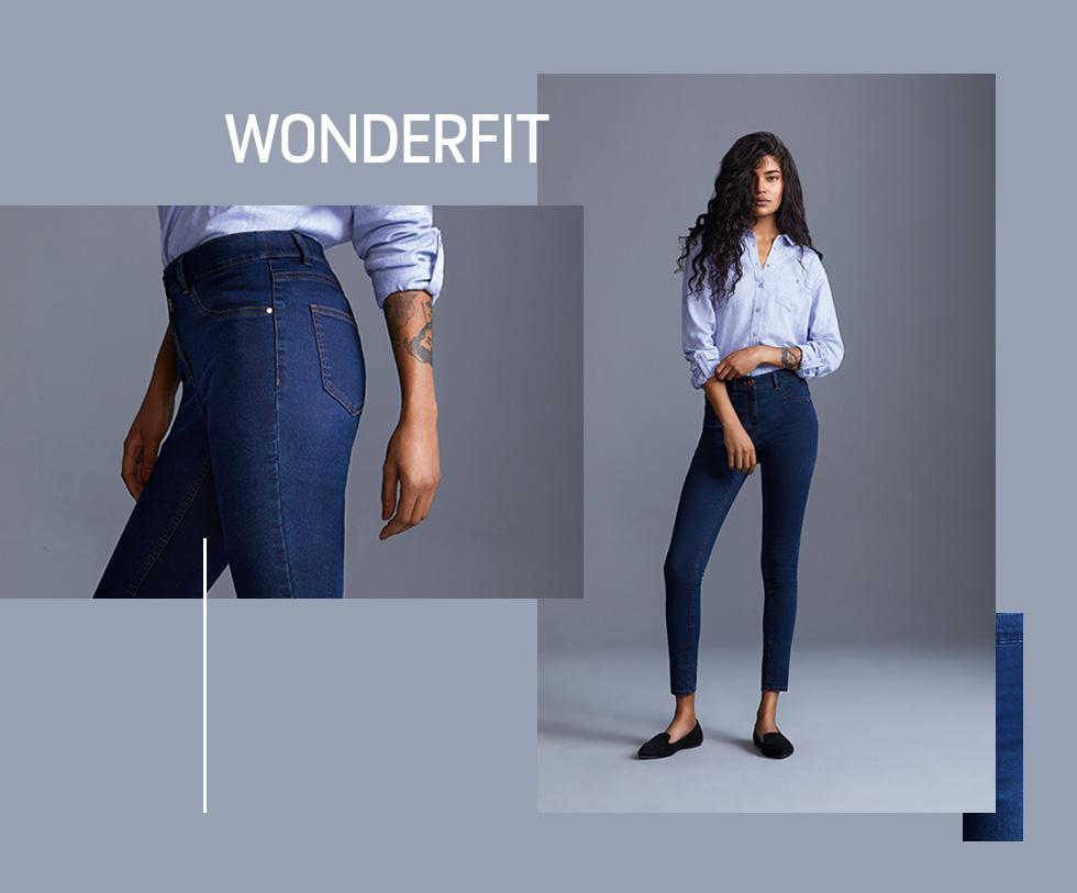 Comfort without the price tag! Shop wonderfit jeans at George.com