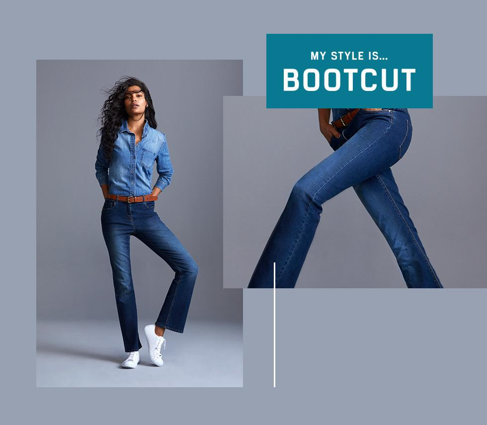Get inspired by the 70's with our bootcut jeans at George.com