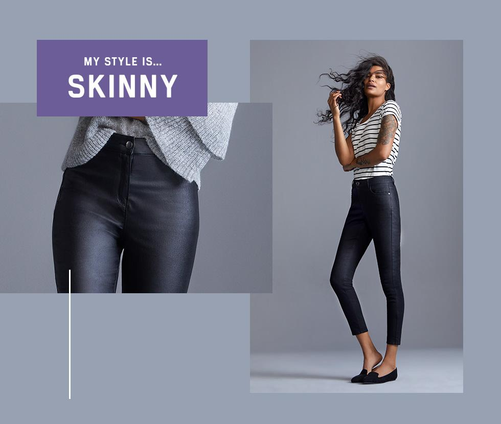 Jeans that never lose their shape! - shop skinny fit now at George.com