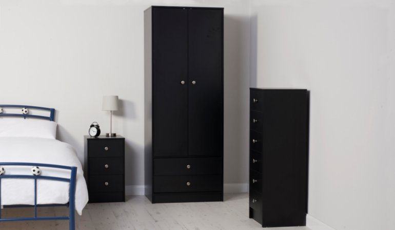 Drake Kids Furniture Range - Black