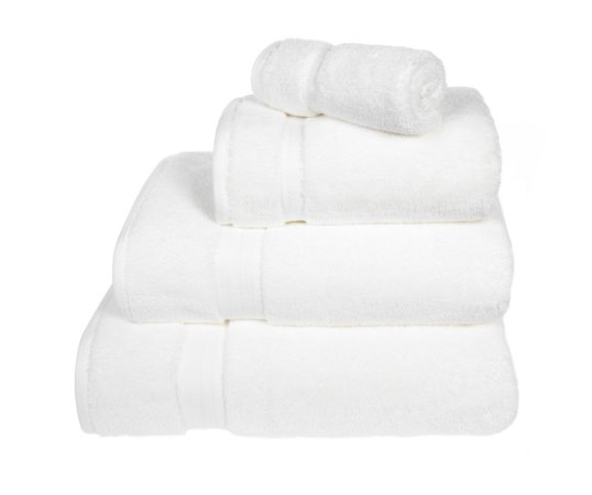 Luxury 100% Pima Cotton Towel and Bath Mat Range - White