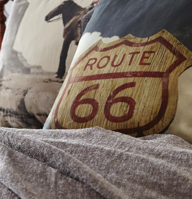 route 66 cushion