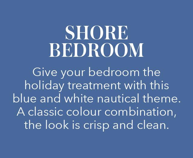 Shore bedroom