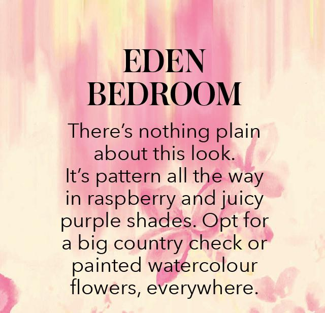 Eden bedroom