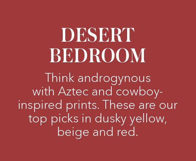 DESERT BEDROOM