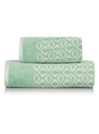 100% Cotton Towel Range - Diamond Mint