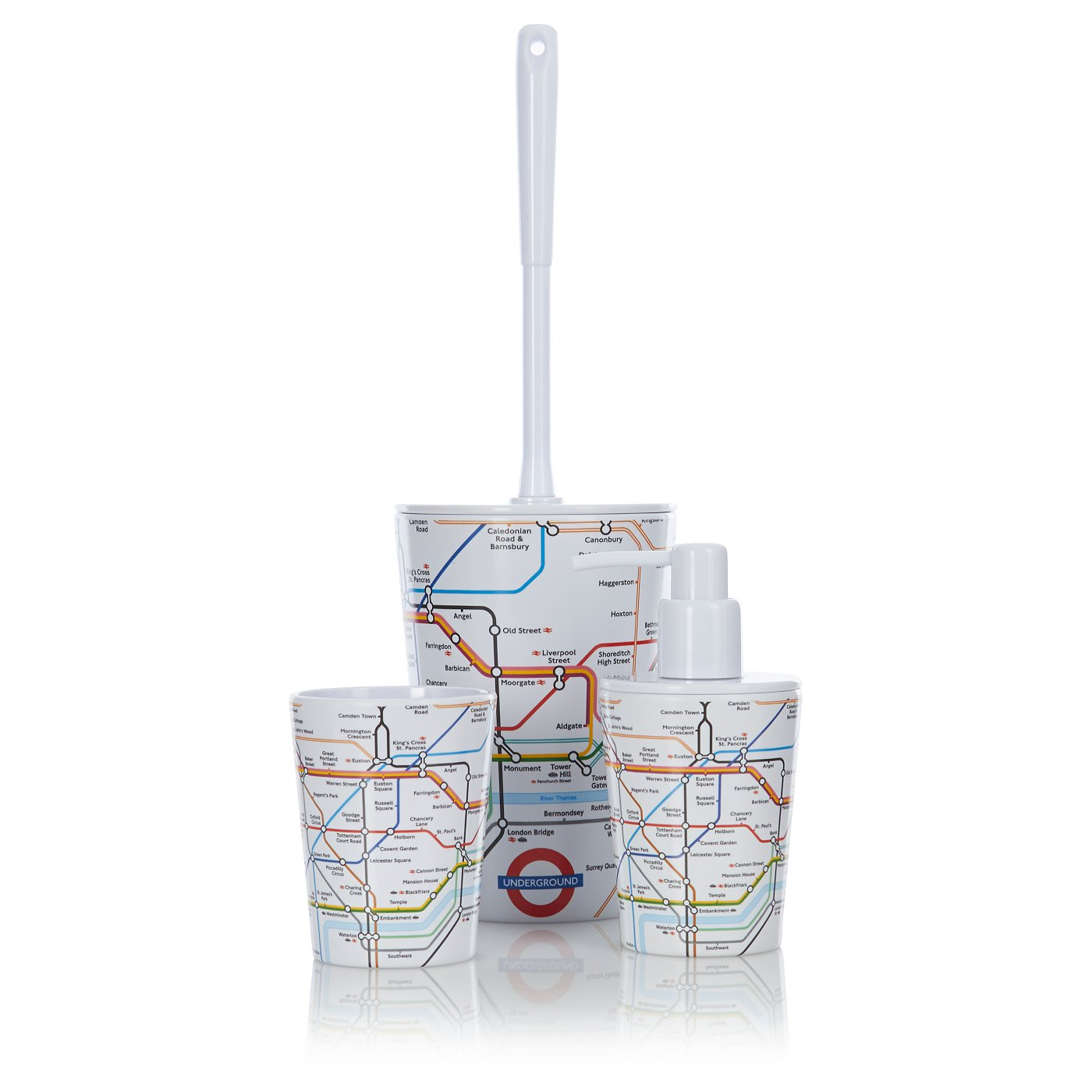 george home accessories london underground loading zoom - Bathroom Accessories London