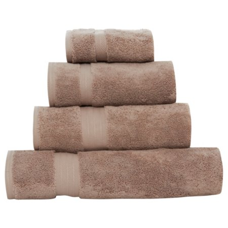 Luxury by George Home 100% Pima Cotton Towel Range - Natural