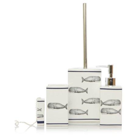 George Home Whale Bathroom Accessories