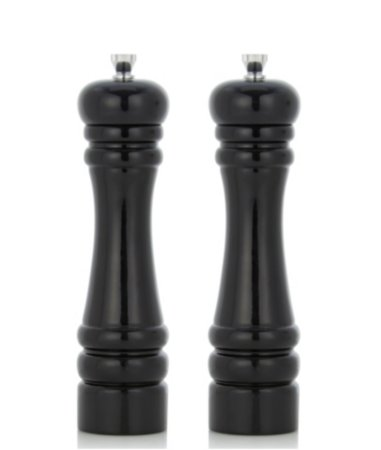 George Home Black Salt & Pepper Mills