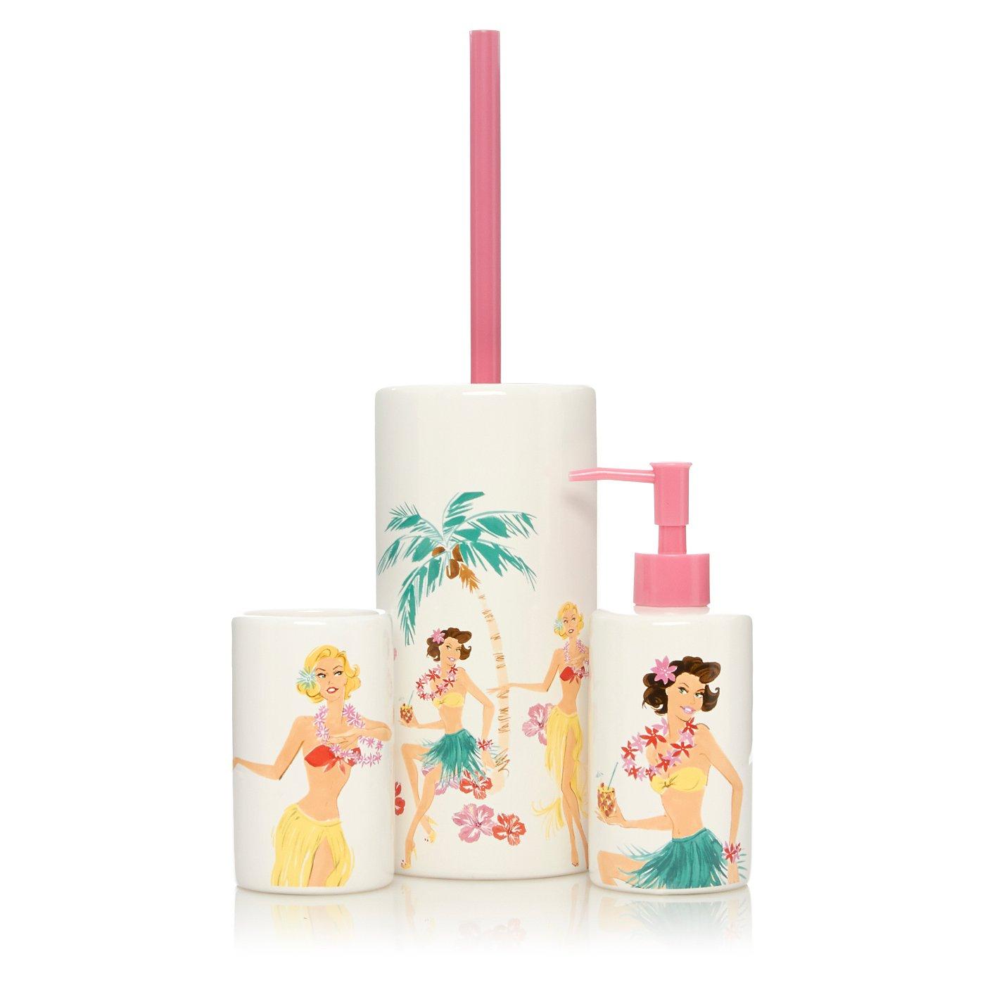George Home Hula Girl Bathroom Accessories | Shop All Bathroom ...