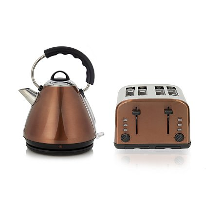 George Home Pyramid Kettle Amp 4 Slice Toaster Range