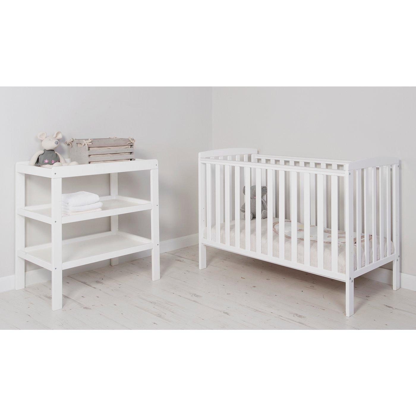 George Home Rafferty Nursery Furniture Range   White  Loading zoom. George Home Rafferty Nursery Furniture Range   White   Bedroom