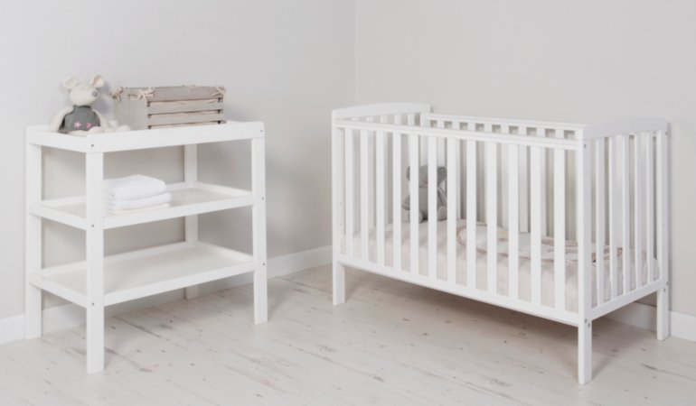 Rafferty Nursery Furniture Range - White