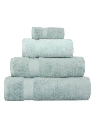 Luxury by George Home 100% Pima Cotton Towel & Bath Mat Range - Duck Egg