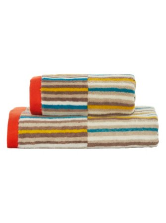 George Home Micro Stripe Towel Range
