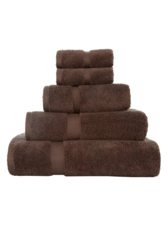Super Soft Cotton Towel Range - Mocha