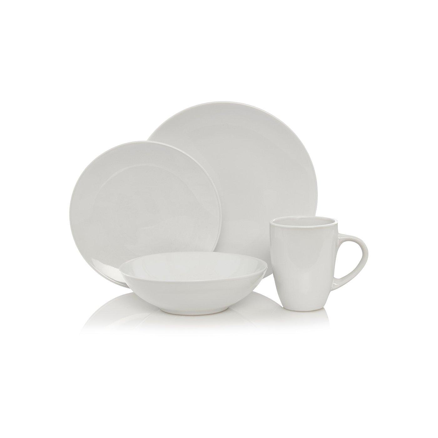 George Home White Kitchen Range | Tableware | George at ASDA