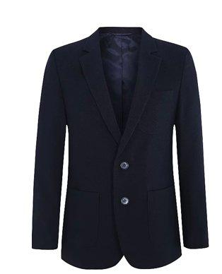 A black school blazer