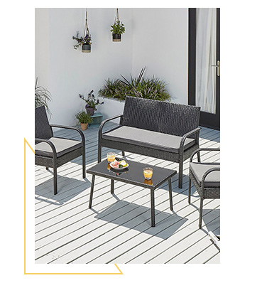Shop our range of outdoor sofa sets
