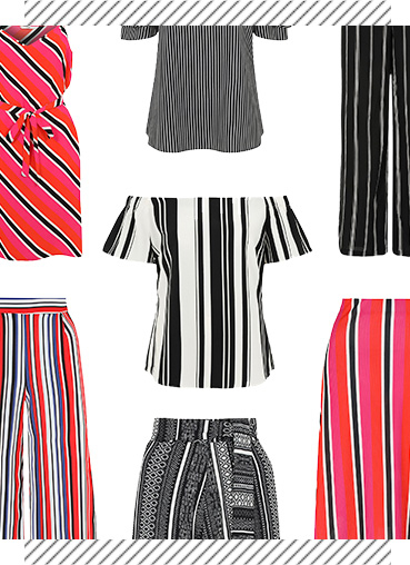 Make a statement in stripes this season