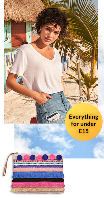Shop our range of women's clothing for under £15