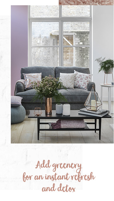 Create a cosy place to unwind with our Harmony living room range