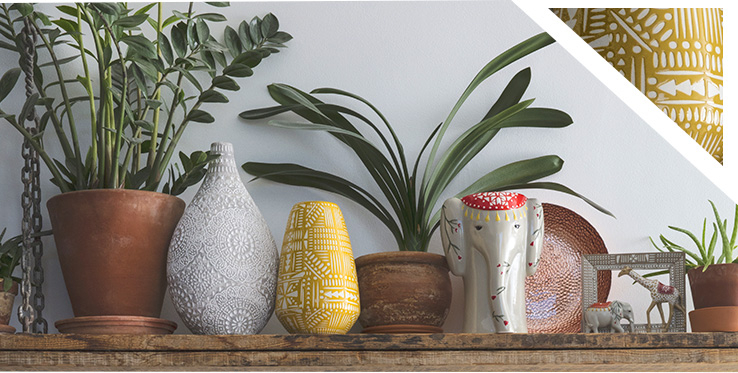 Fill your home with wonders of the world with our range of accessories