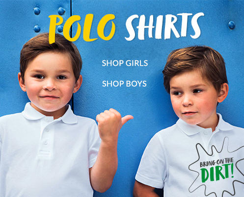 Shop school polo shirts