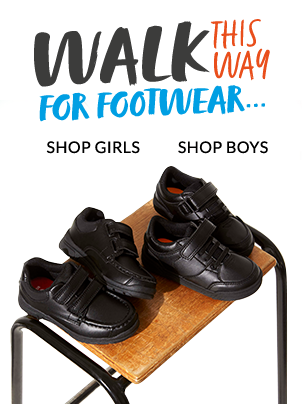 Browse our range of school shoes