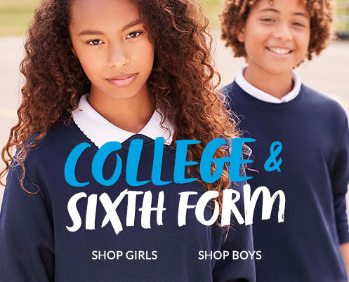 Ensure the perfect fit for school with our sixth form schoolwear range