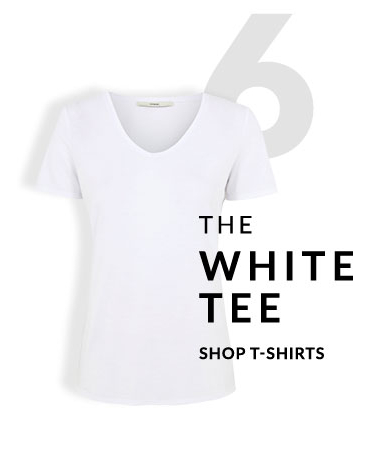 The T-shirt is simple, versatile and an absolute necessity